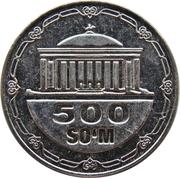 500 Soʻm -  revers