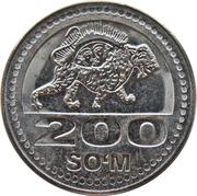 200 Soʻm -  revers