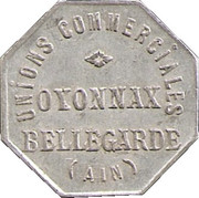10 Centimes - Unions commerciales - Oyonnax [01] – avers