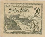 50 Heller (Pabneukirchen) -  avers