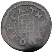2 Pfennig - Theodor Adolf von der Recke – avers