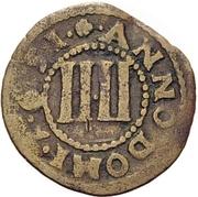 4 Pfennig - Theodor Adolf von der Recke – revers