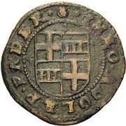 6 Pfennig - Theodor Adolf von der Recke – avers