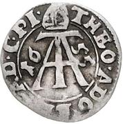 2 Mariengroschen - Theodor Adolf von der Recke – avers