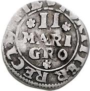 2 Mariengroschen - Theodor Adolf von der Recke – revers