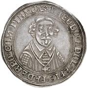 1 Thaler - Theodor Adolph von der Recke – avers