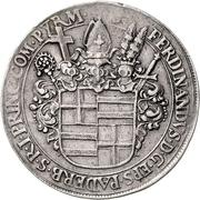 1 Thaler - Ferdinand II. von Fürstenberg – avers