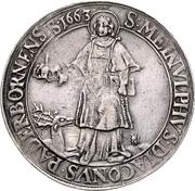 1 Thaler - Ferdinand II. von Fürstenberg – revers