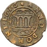 3 Pfennig - Ferdinand II. von Fürstenberg – revers