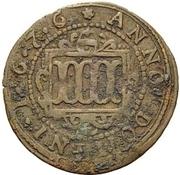 4 Pfennig - Ferdinand II. von Fürstenberg – revers
