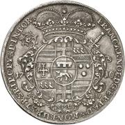1 Thaler - Franz Arnold, Freiherr von Metternich – avers