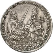 1 Thaler - Franz Arnold, Freiherr von Metternich – revers