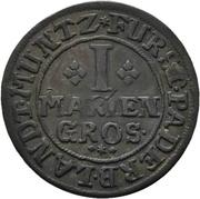 1 Mariengroschen - Franz Arnold von Metternich – revers
