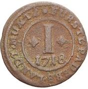1 Pfennig - Franz Arnold von Metternich – revers