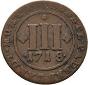 3 Pfennig - Franz Arnold von Metternich – revers