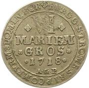 6 Mariengroschen - Franz Arnold von Metternich – revers