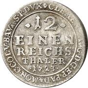 1/12 Thaler - Clemens August von Paderborn – revers