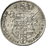 ⅙ Thaler - Clemens August von Bayern – revers