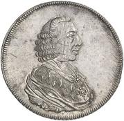 1 Thaler - Wilhelm Anton von der Asseburg – avers