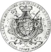 1 Thaler - Wilhelm Anton von Asseburg (Konventionstaler) – avers