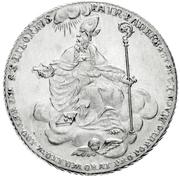 1 Thaler - Wilhelm Anton von Asseburg (Konventionstaler) – revers