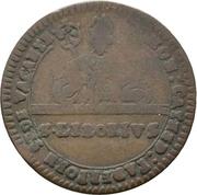 6 Pfennig (Sede Vacante) – avers