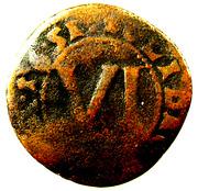 6 pfennig Theodor Adolf – revers