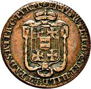 1 pfennig Friedrich Wilhelm von Westphalen – avers