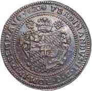 1 thaler Ferdinand de Bavière – revers