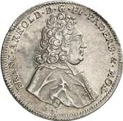 1 Thaler - Franz Arnold von Metternich – avers