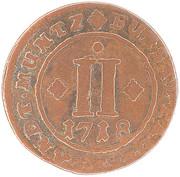 2 Pfennig - Franz Arnold – revers