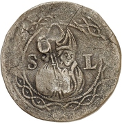12 Pfennig (Präsenzzeichen) – avers