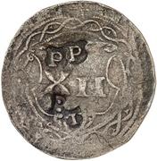 12 Pfennig (Präsenzzeichen) – revers