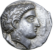 Tetradrachm - Patraos (Astibos or Damastion) – avers