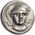 Tetradrachm - Audoleon (Astibos or Damastion) – avers