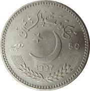 50 roupies (Anniversaire de l'Indépendance) – avers