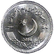 50 roupies (Abdul Sattar Edhi) – avers