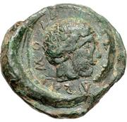 Æ Tetradrachm (Palairos) – revers