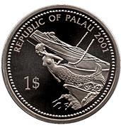 1 dollar Méduse – avers