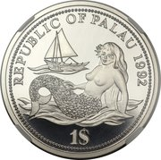 1 Dollar (Year of Marine Life Protection - Essai) – avers