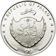 5 dollars Le Pamir -  avers