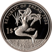 1 Dollar (Jellyfish) – avers