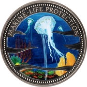1 Dollar (Jellyfish) – revers