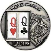 1 Dollar (Hole Cards: Ladies ♥♧) – revers