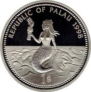 1 Dollar Palaos Marine-life Protection – avers