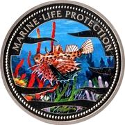 1 Dollar (Blue Surgeon Fish) – revers