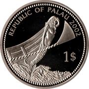 1 Dollar (Blue Surgeon Fish) – avers