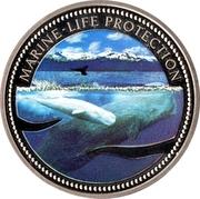 1 Dollar (Sperm Whale) – revers