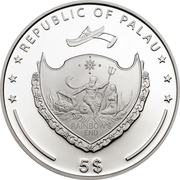 5 Dollars (Dachstein) -  avers