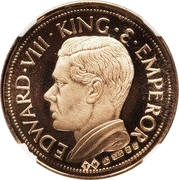 Crown - Edward VIII (gold) – avers